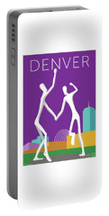 Denver Dancers/purple Portable Battery Charger