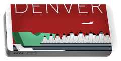 Denver Dia/maroon Portable Battery Charger