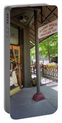 Portable Battery Charger featuring the photograph Denver Happy Hour by Frank Romeo