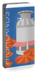 Denver Highlands/blue Portable Battery Charger