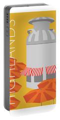 Denver Highlands/gold Portable Battery Charger