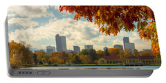 Denver Skyline Fall Foliage View Portable Battery Charger