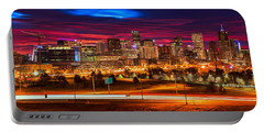 Denver Skyline Sunrise Portable Battery Charger