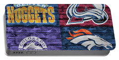 Denver Sports Teams Barn Door Portable Battery Charger
