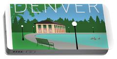 Denver Washington Park/blue Portable Battery Charger