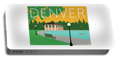 Denver Washington Park/gold Portable Battery Charger