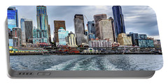 Departing Pier 54 Portable Battery Charger by Rob Green
