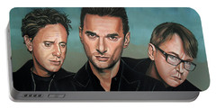 Depeche Mode Painting Portable Battery Charger