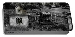 Derelict Farm, Transylvania Portable Battery Charger