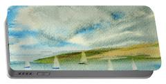 Dark Clouds Threaten Derwent River Sailing Fleet Portable Battery Charger