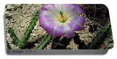 Desert Bloom Portable Battery Charger