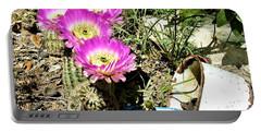 Desert Blossom Portable Battery Charger