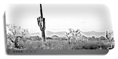 Desert Cactus Portable Battery Charger