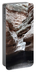 Portable Battery Charger featuring the photograph Desert Canyon Stream by Andrea Hazel Ihlefeld