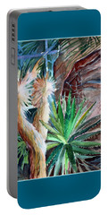 Desert Conservatory Portable Battery Charger by Mindy Newman