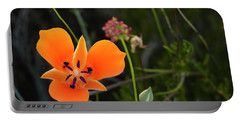 Portable Battery Charger featuring the photograph Desert Flower 3 by Penny Lisowski