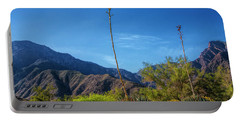Portable Battery Charger featuring the photograph Desert Flowers In The Anza-borrego Desert State Park by Randall Nyhof