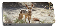 Portable Battery Charger featuring the photograph Desert Fox by Arik Baltinester