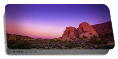 Desert Grape Rock Portable Battery Charger