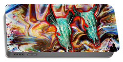 Desert Hallucination Portable Battery Charger by Ian Gledhill