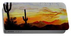 Desert Mustangs Portable Battery Charger