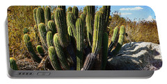 Portable Battery Charger featuring the photograph Desert Plants - The Wild Bunch by Glenn McCarthy