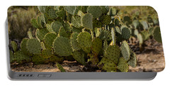 Desert Prickly-pear No6 Portable Battery Charger by Mark Myhaver