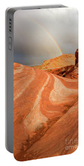 Desert Rainbow Portable Battery Charger