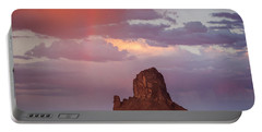 Desert Rainbow Portable Battery Charger