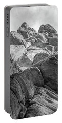 Portable Battery Charger featuring the photograph Desert Rock Formation by Frank DiMarco