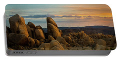 Desert Rocks Portable Battery Charger