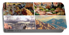 Desert Scape Gallery Portable Battery Charger