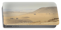 Portable Battery Charger featuring the photograph Desert by Silvia Bruno