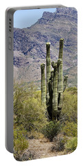Portable Battery Charger featuring the photograph Desert Strength by Phyllis Denton