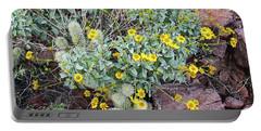 Teddybear Cactus Bouquet Portable Battery Charger