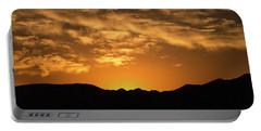 Desert Sunrise Portable Battery Charger