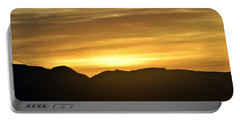 Portable Battery Charger featuring the photograph Desert Sunrise by John Glass