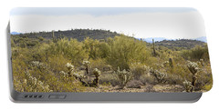 Portable Battery Charger featuring the photograph Desert Sunrise by Phyllis Denton