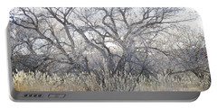Portable Battery Charger featuring the photograph Desert Tree Willows by Andrea Hazel Ihlefeld