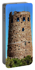 Desert View Watchtower At The Grand Canyon Portable Battery Charger