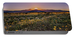 Portable Battery Charger featuring the photograph Desert Vitality by Ryan Weddle