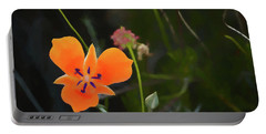 Portable Battery Charger featuring the photograph Desert Wildflower 2 by Penny Lisowski