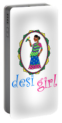 Desi Girl Portable Battery Charger