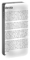 Desiderata #minimalism Portable Battery Charger