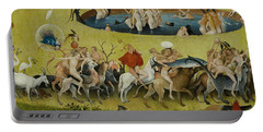 Detail From The Central Panel Of The Garden Of Earthly Delights Portable Battery Charger