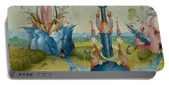 Detail From The Garden Of Earthly Delights  Central Panel Portable Battery Charger