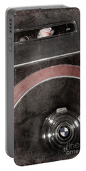 Portable Battery Charger featuring the photograph Detail Of A Vintage Car. by Andrey  Godyaykin