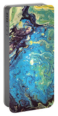 Portable Battery Charger featuring the painting Detail Of Conjuring 2 by Robbie Masso