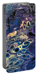 Portable Battery Charger featuring the painting Detail Of He Likes Space by Robbie Masso