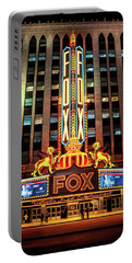Detroit Fox Theatre Marquee Portable Battery Charger